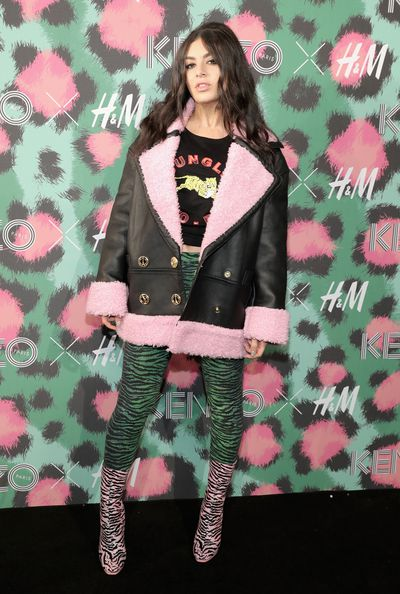 Charlie XCX at H&M x Kenzo