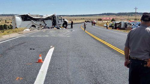 At least four killed in Utah tour bus crash