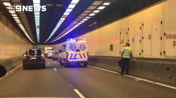 Harbour Tunnel reopens after crash