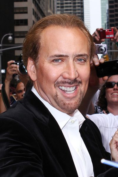 Nic Cage has a thing for big bones. In 2007, he bought a dinosaur skull for $US276 grand. The weird part is Cage outbid Leo DiCaprio to claim his prize.