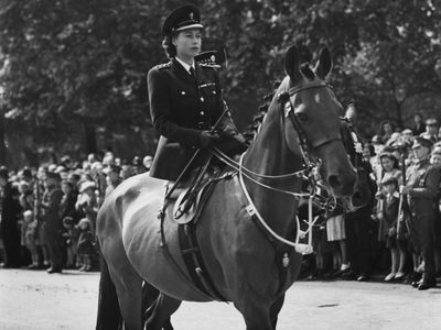 Trooping the Colour: Queen Elizabeth