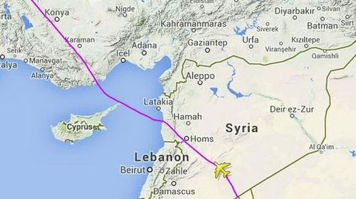 Malaysia Airlines changes flight path from Ukraine to Syria