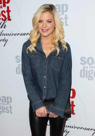 Actress Kirsten Storms attends Soap Opera Digest's 40th Anniversary celebration at The Argyle on February 24, 2016 in Hollywood, California.