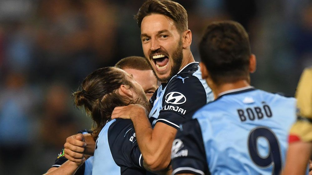 Sydney FC inflict first Newcastle Jets A-League loss