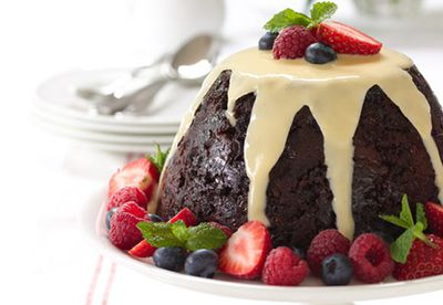 Christmas pudding with a twist