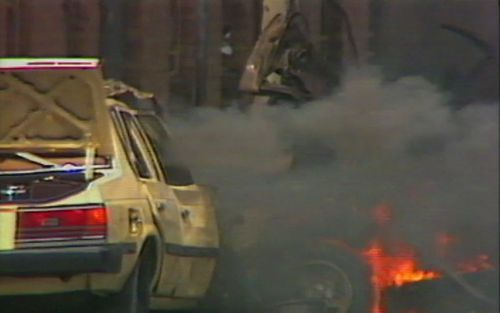 The Russell Street bombing killed one person and injured 22 more. Picture: 9NEWS
