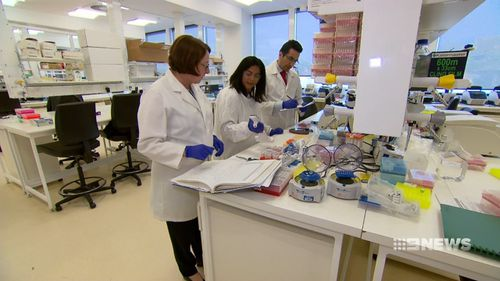 The blood test could predict the long-term risk of heart attacks. Picture: 9NEWS