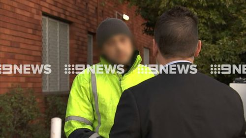 Two men have been charged over the attack. (9NEWS)