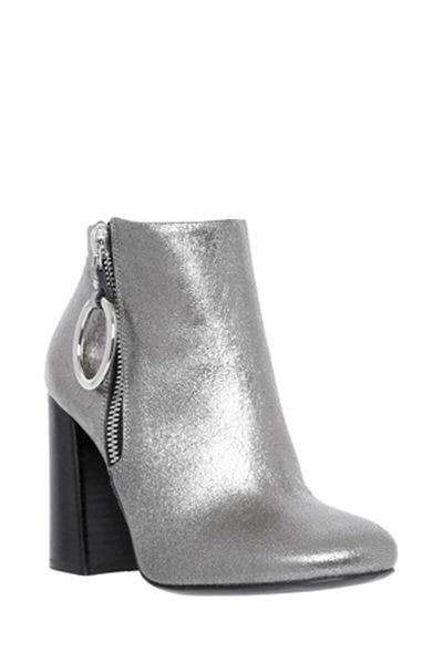 """McQ Alexander McQueen harness boot, $850 at <a draggable=""""false"""" href=""""https://www.myer.com.au/shop/mystore/ankle-boots-/pembury-harness1-silver-boot-414784360"""" target=""""_blank"""">Myer</a>"""
