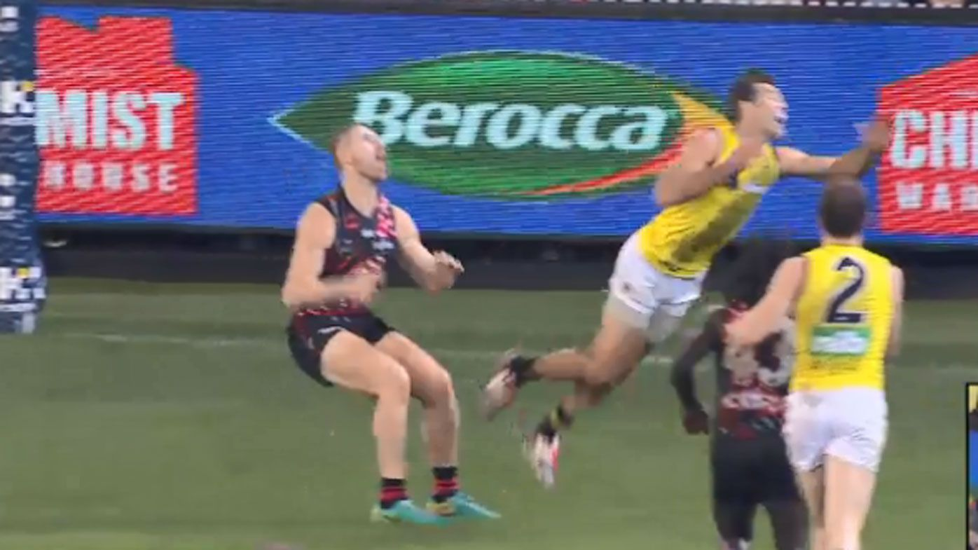 Richmond Alex Rance savaged by legend Wayne Carey for milking free kick in AFL