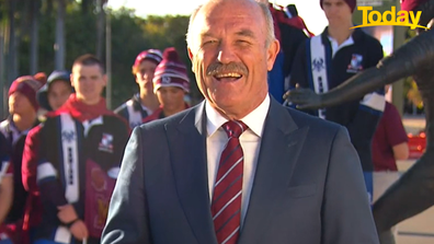 Wally Lewis weighed in for the Queensland camp.