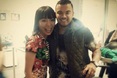@damiim: It was such a pleasure to meet Guy! Thanks for your encouragement and your lovely words. @guysebastian @xfactor_au #xfactor #DamiArmy <br/>