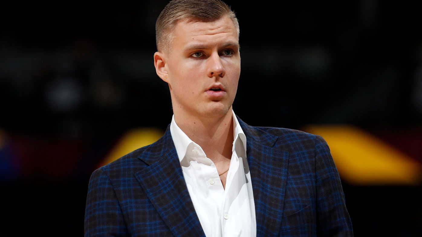 Mavs center Porzingis accused of rape in NY