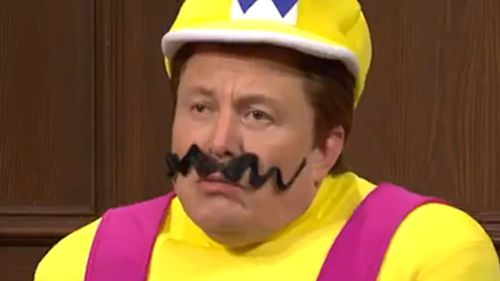 Elon Musk appears as Wario in a Saturday Night Live sketch.