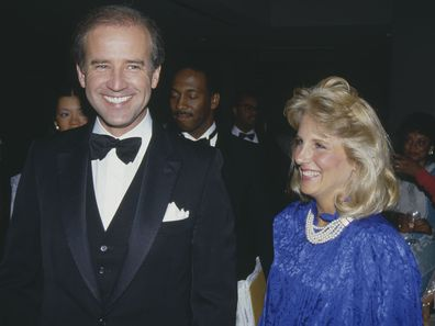 Joe Biden and Jill Biden in 1987