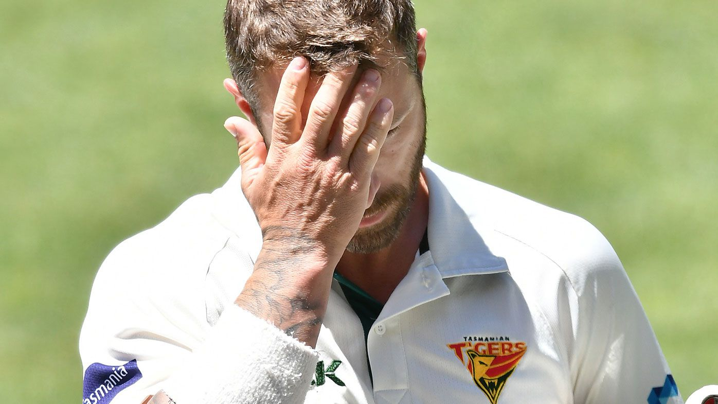 Matthew Wade falls shy of Shield ton against South Australia