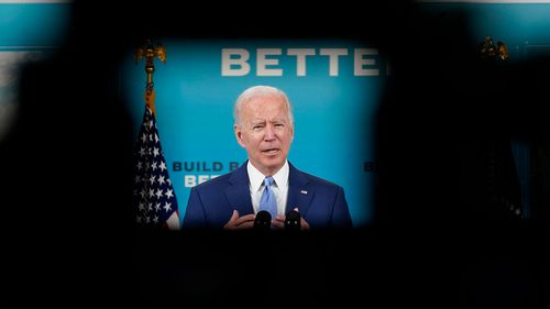 Joe Biden's approval rating is in the doldrums.