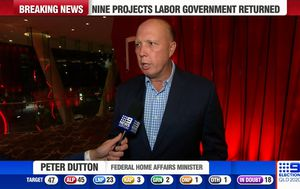 Peter Dutton says 'sabotage' within LNP ranks affected Deb Frecklington's election campaign