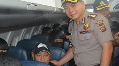 "<br>March 4, 2015: The pair were transferred to Besi prison on Nusa Kambangan, known as ""Death Island"".<br>"