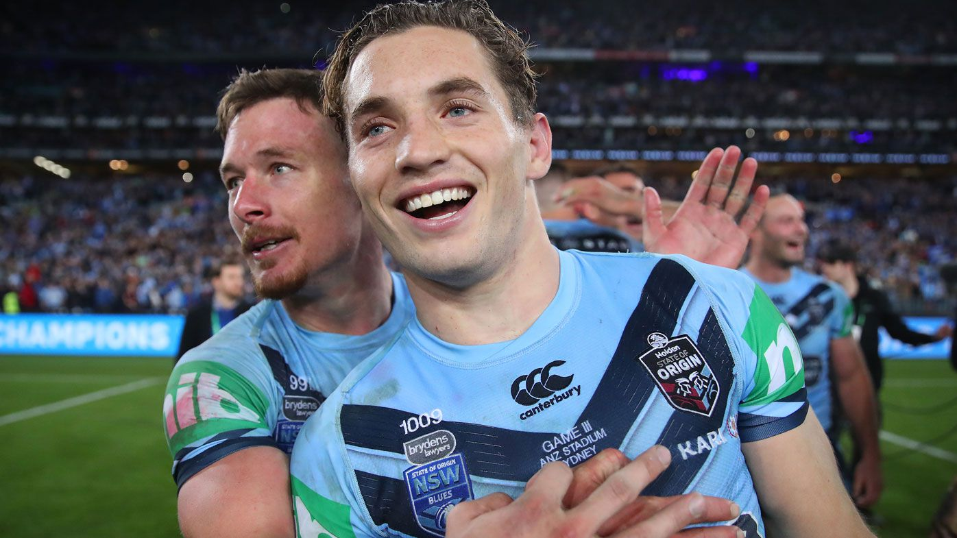 Cameron Murray stars for the Blues in the Origin decider