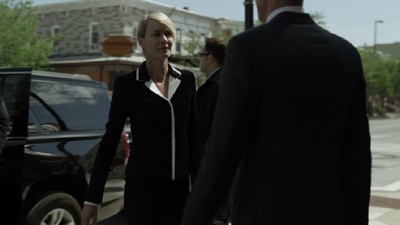 <p>Frank is facing re-election and his wife Claire Underwood is nowhere to be found, choosing to spend time with her mother.</p>