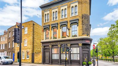 Tour a flat converted from a London pub built in 1850