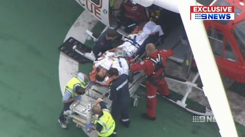Mr Travaglini is being treated at the Perth Royal Hospital. (9NEWS)