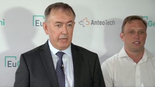 Talking this morning about the new test, AnteoTech CEO Derek Thomson said the test would be instrumental in getting world economies and large events back up and running with again.