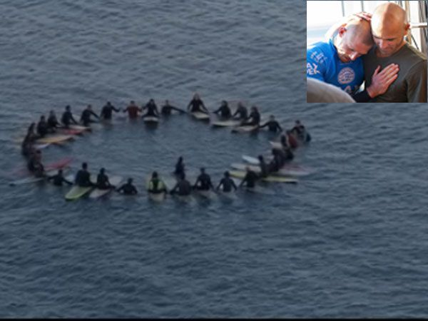 Shark attack victim Mick Fanning's eerie surfing commercial