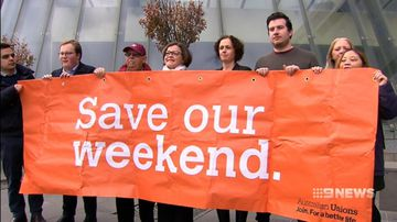 Hospitality and retail workers go to court in bid to reverse penalty rate cuts