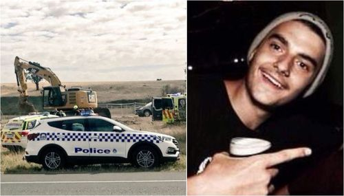 Jack Brownlee died in hospital today after being injured in a trench collapse yesterday in Ballarat. (Supplied)