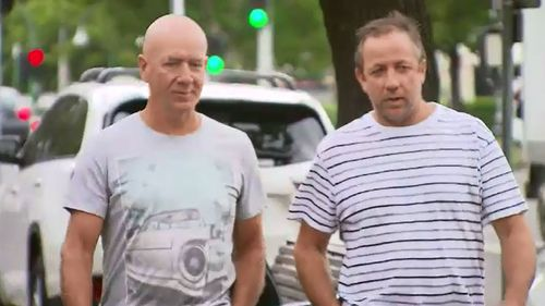 Mr McDonald has expressed gratitude to his brother for possibly saving his life. (9NEWS)