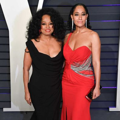 Diana Ross and Tracee Ellis Ross at Vanity Fair Party in 2019.