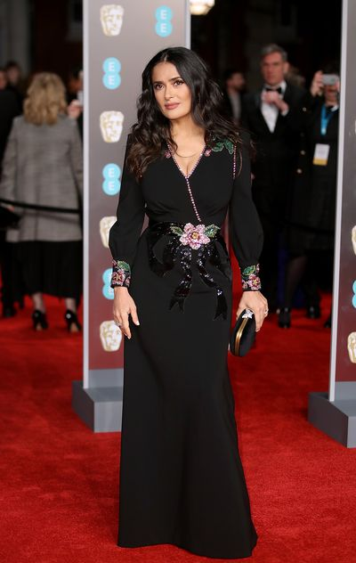 Salma Hayek at the British Academy Film Awards (BAFTAs)