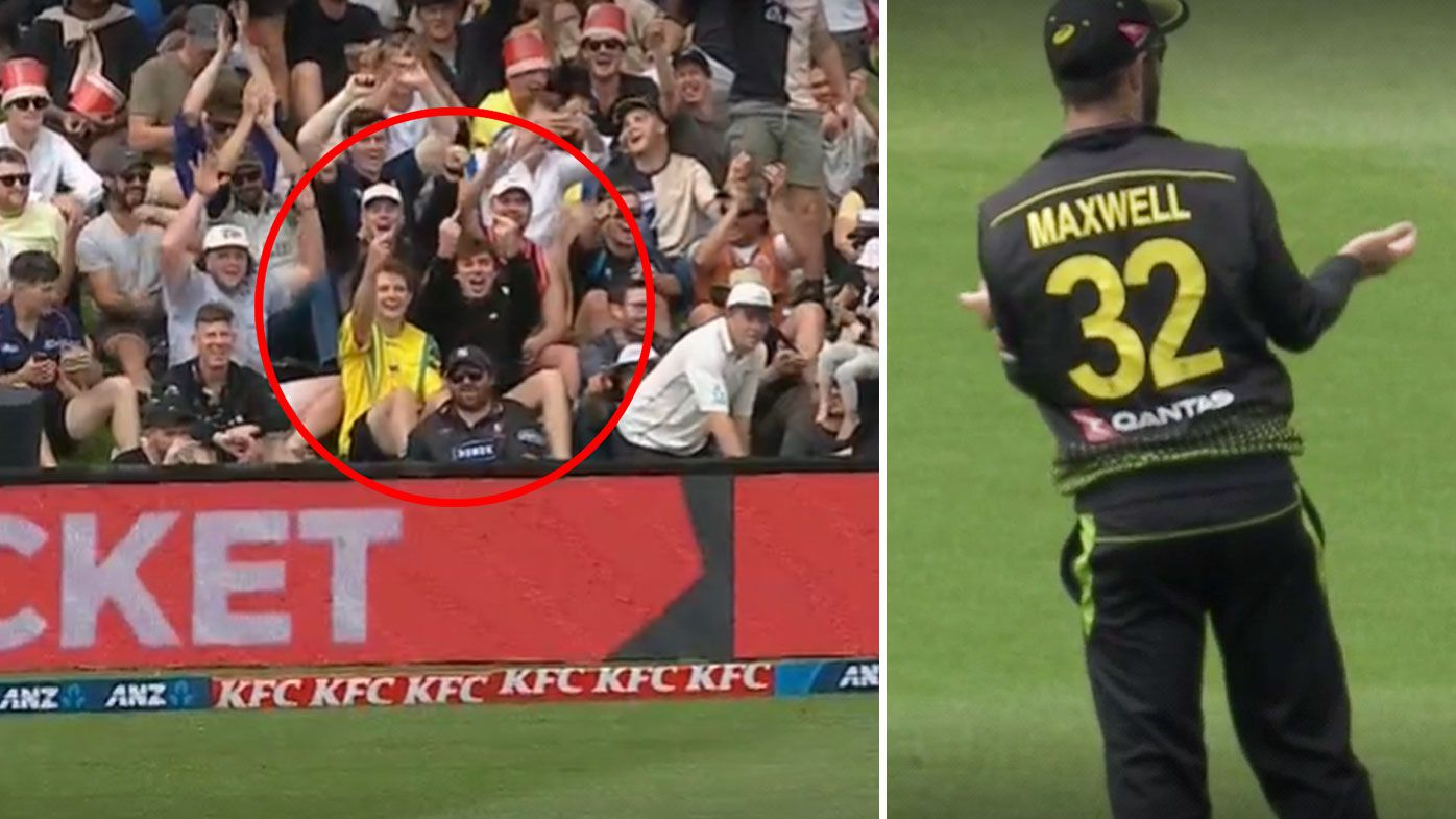 Black Caps crowd rips into Glenn Maxwell as Aussies destroyed in first innings