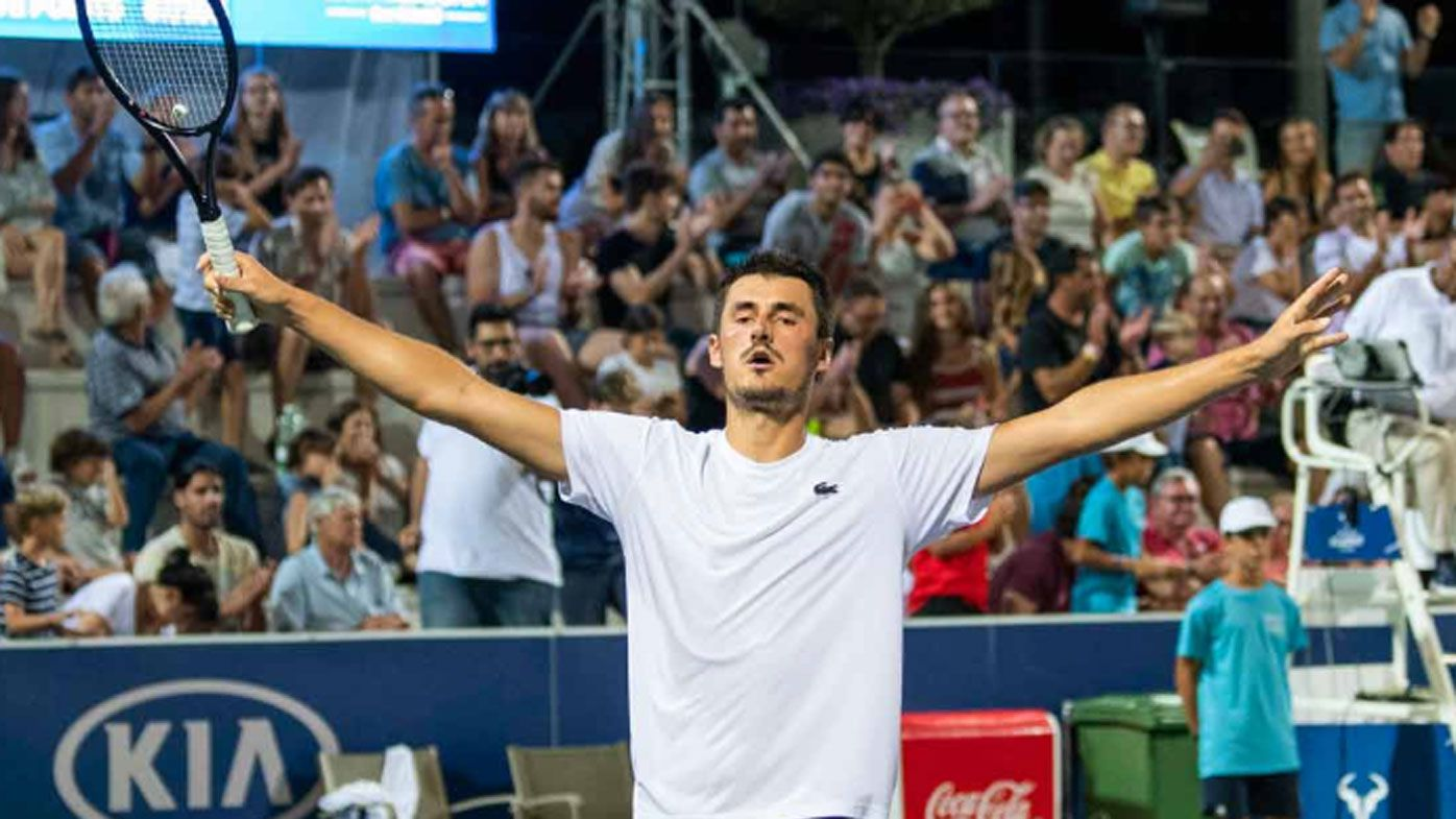 Australia's Bernard Tomic pockets almost $10k after ATP Challenger event win in Spain