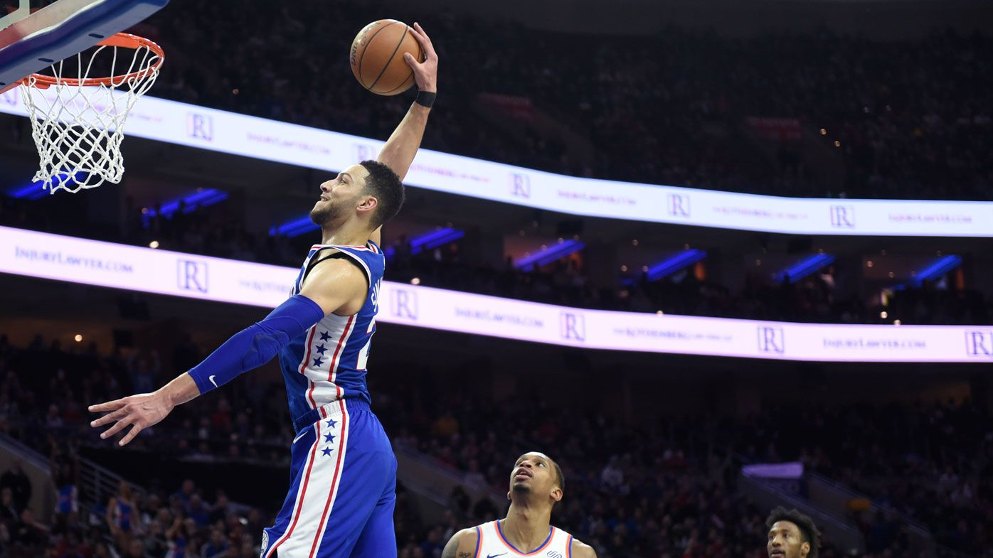 Simmons, Ingles fire again in NBA