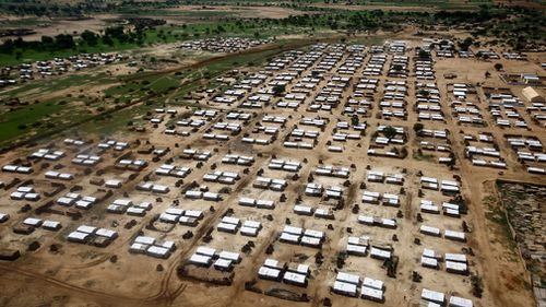 The Al-Nimir camp for South Sudanese refugees in the Sudanese state of East Darfur. (Image: AFP)
