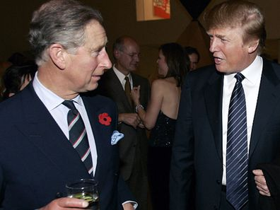 Prince Charles set to meet with Donald Trump during Trump's visit.