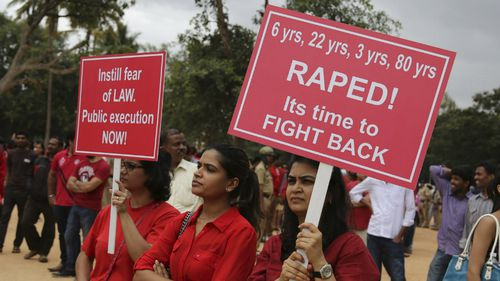 India police arrest two gym instructors over alleged rape of six-year-old girl