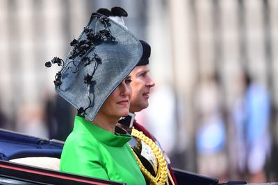 Trooping the Colour: Sophie, Countess of Wessex