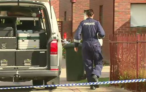 Neighbours told 9NEWS the elderly man was in a relationship with the 26-year-old arrested. (9NEWS)