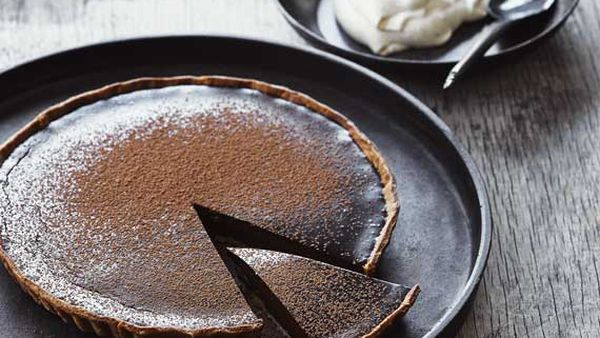 Mark Best's chocolate tart