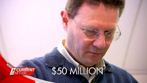 He said that in 9 out of every 10 cases, most if not all of the money owed is returned to his tradie clients. Picture: A Current Affair.