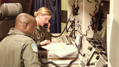 The US also has underground nuclear missile control rooms. (60 Minutes)