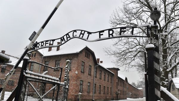 Father and son slammed over concentration camp joke
