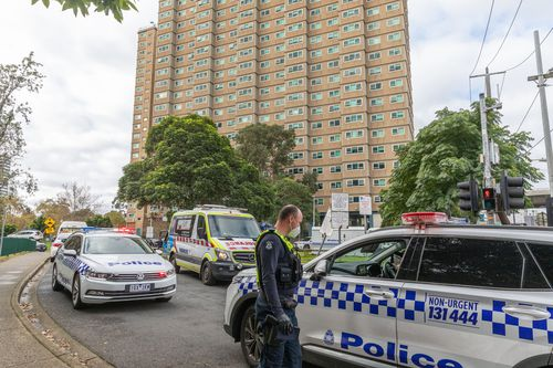 Nine public housing estates have been placed into mandatory lockdown