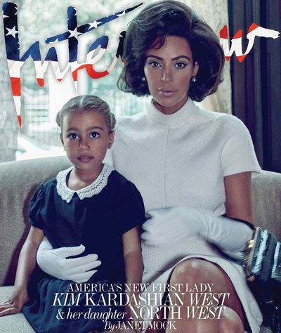 Kim Kardashian and North West, <em>Interview </em>Magazine September 2017