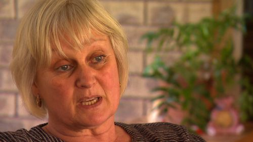 Neighbour Debbie says Godwin has given her two black eyes.