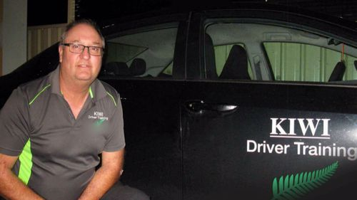 Driving instructor accused of sexually touching a woman.
